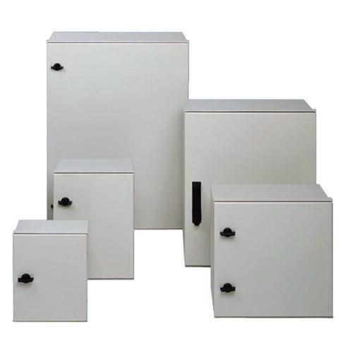scatola a parete / rettangolare / in poliestere / con coperchio incernierato