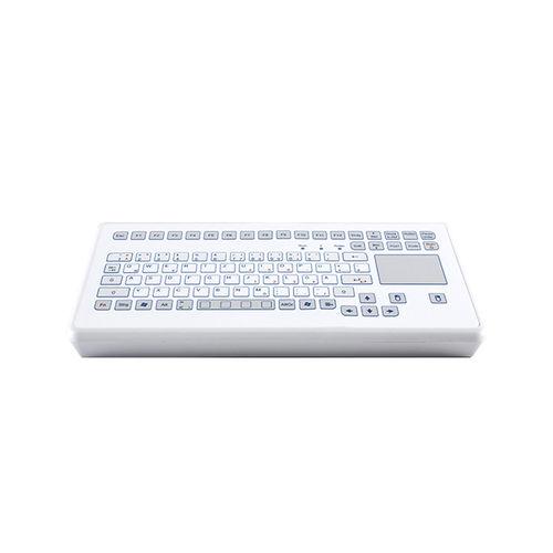 tastiera da ufficio / capacitiva / 88 tasti / con touchpad