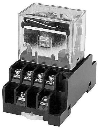 relè elettromeccanico 110 V AC / 24 V DC / di potenza / su guida DIN