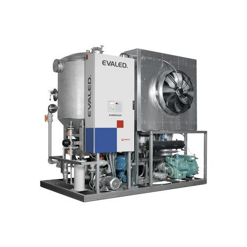evaporatore sottovuoto / a circolazione forzata / di processo / automatico