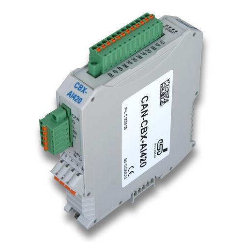 modulo I/O analogico / CAN Bus / di rete / di automatizzazione