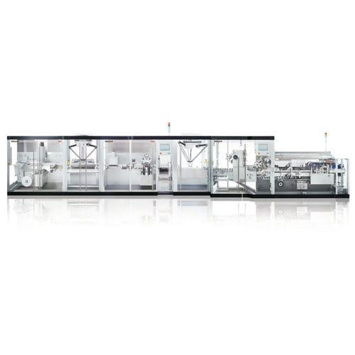 termoformatrice alimentata a rullo / per imballaggio di prodotti farmaceutici / automatica / compatta