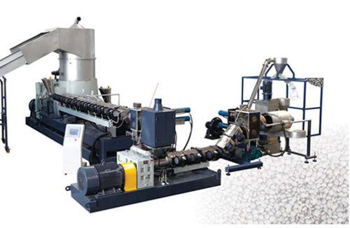 granulatore per fabbricazione di granuli in plastica