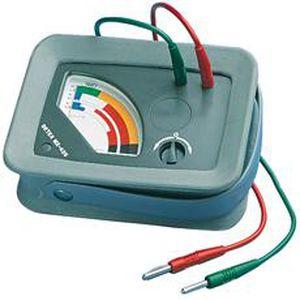 ohmmetro analogico / portatile / a bassa tensione