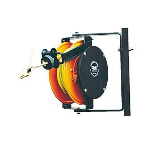 avvolgitore di messa a terra / a richiamo automatico / fisso / a tamburo aperto