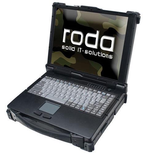 computer portatile industriale / Intel® Core™2 Duo / Intel® GMA 4500 MHD / interamente indurito