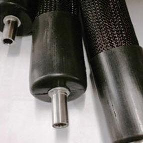 tubo riscaldante per gas / per liquidi / in PTFE / in acciaio inossidabile