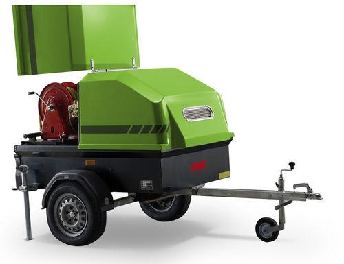 idropulitrice ad acqua calda / mobile / ad alta pressione