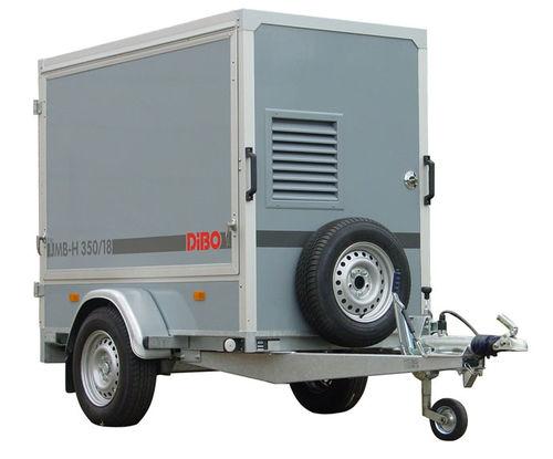 idropulitrice ad acqua calda / con motore a combustione / mobile / ad alta pressione
