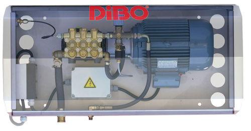idropulitrice ad acqua calda / elettrica / fissa / ad alta pressione