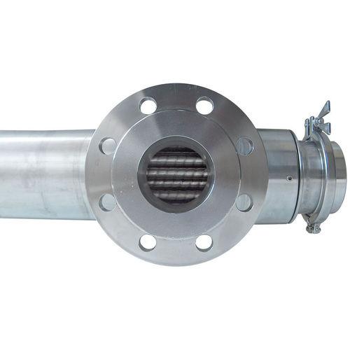 scambiatore di calore multitubo / liquido/gas / in acciaio inossidabile / per alta temperatura
