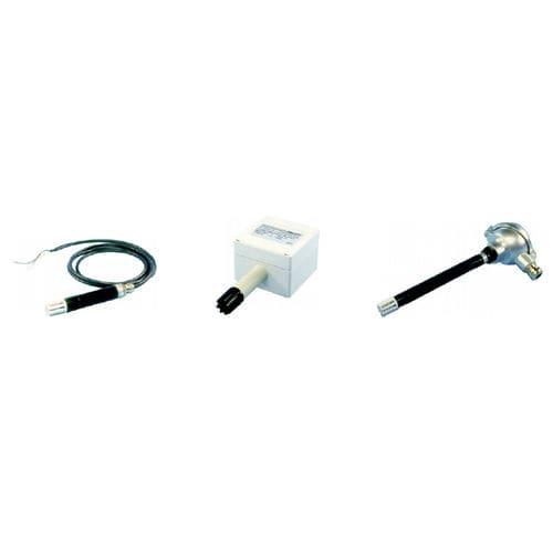 trasmettitore di umidità relativa / installato su condotto / a parete / dell'aria