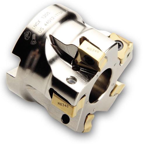 fresa a riccio / a inserti / per spallamento / per alluminio