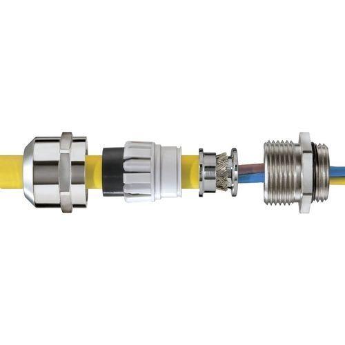pressacavo per applicazioni ferroviarie / in ottone nichelato / IP68 / IP69