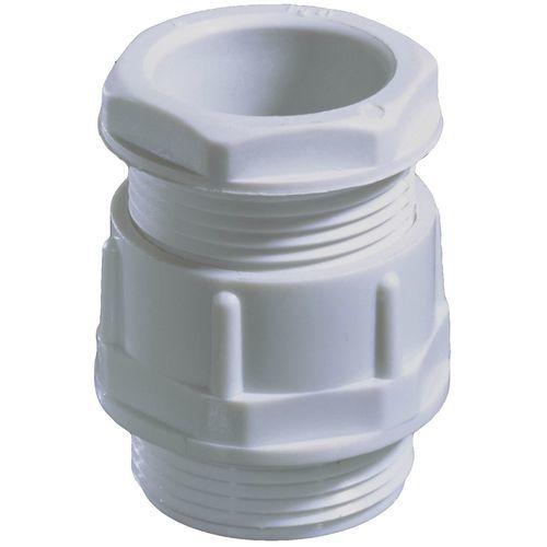 pressacavo in poliammide / dritto / filettato / senza alogeni