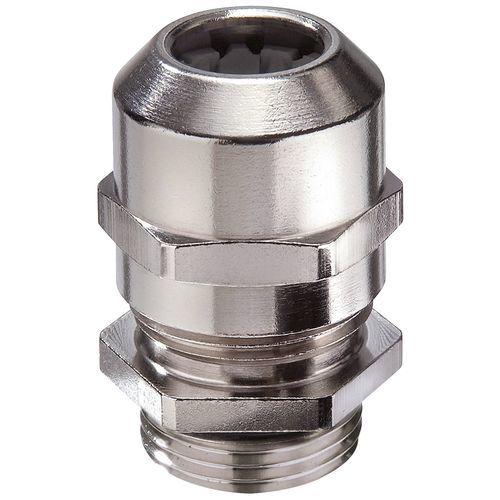 pressacavo in ottone nichelato / IP68 / IP69 / dritto