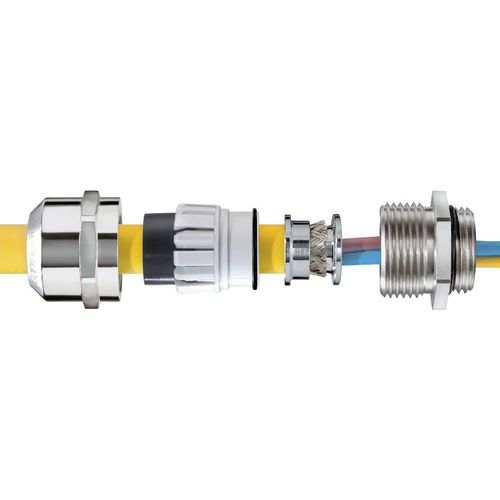 pressacavo in acciaio inossidabile / antideflagrante / IP68 / IP66