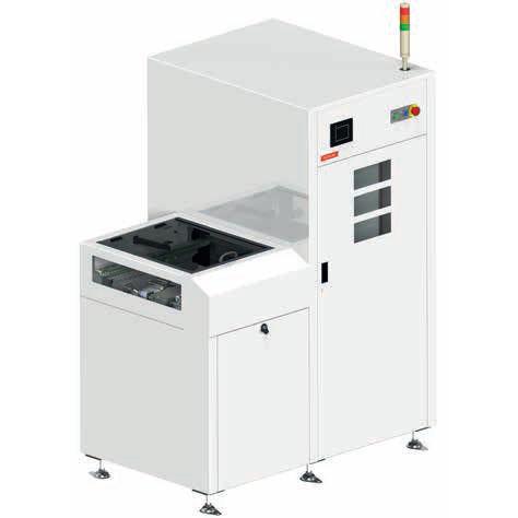 sistema di scarico per circuiti stampati / automatico
