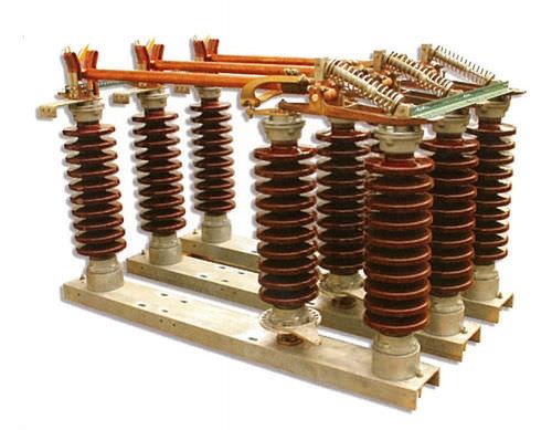interruttore-sezionatore a media tensione / motorizzato / tripolare / isolato ad aria