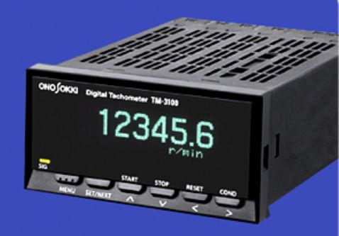 tachimetro senza contatto / per montaggio su pannello / con display LED / frequenzimetro