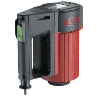 sistema di trasmissione per pompa di travaso fusti