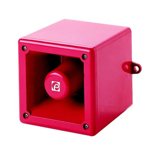 diffusore di allarme sonoro ultrarobusto / sin luce
