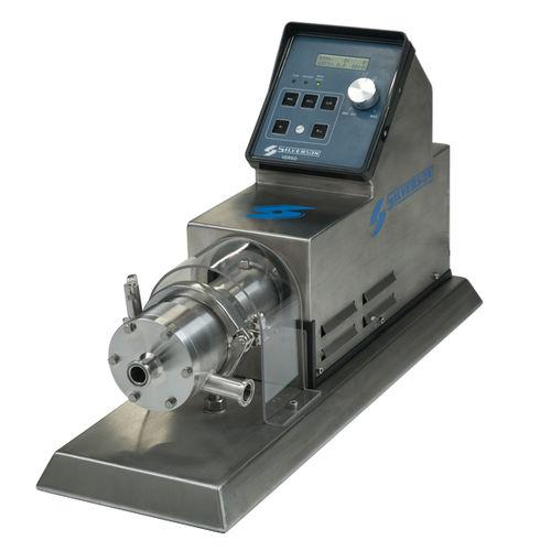miscelatore a rotore-statore / su linea / da laboratorio / in acciaio inossidabile