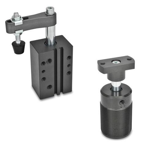 flangia di bloccaggio rotante / pneumatica / per pezzi da lavorare