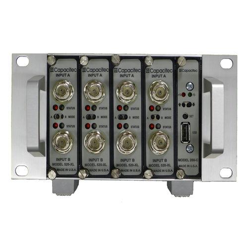 amplificatore di capacitanza / di misura / modulare / per rack