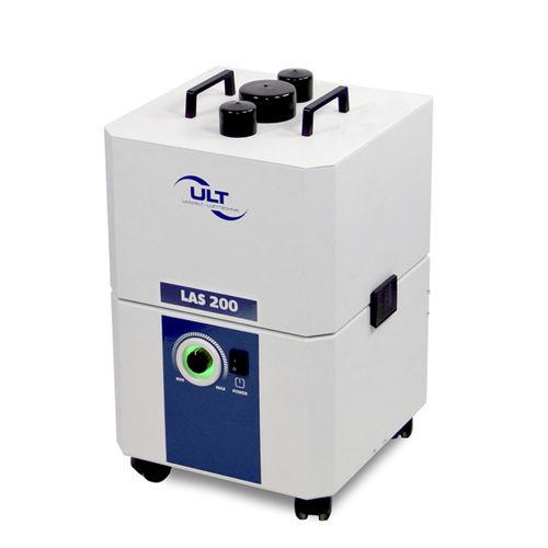 aspiratore di fumo mobile / laser / con filtro secco / modulare