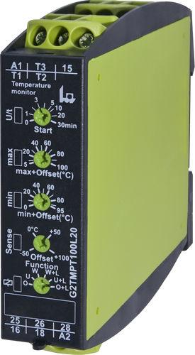unità di controllo di temperatura a LED / programmabile / per trasformatore / per riscaldamento a pavimento