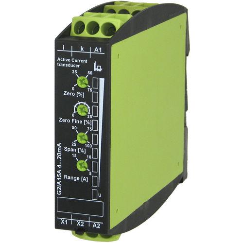 trasduttore di corrente digitale / su guida DIN / montato su pannello / su circuito stampato