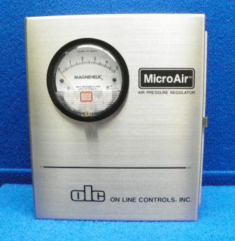 regolatore di pressione per aria / monostadio / a molla / di precisione