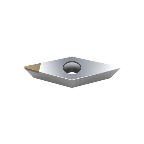 inserto da taglio CBN / per ghisa / per acciaio trattato / per acciaio temprato