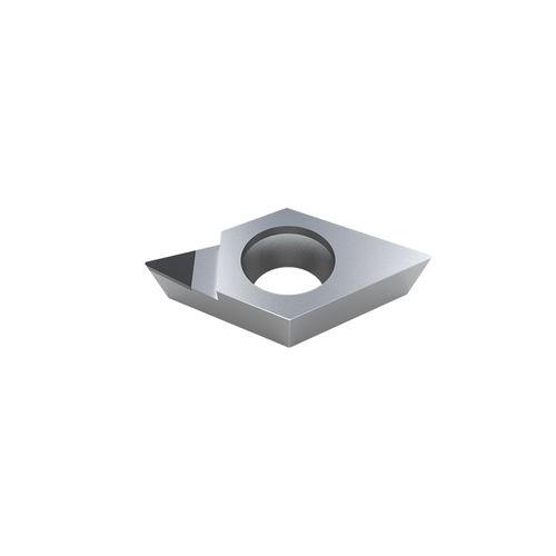 inserto da taglio in PCD / per metalli non ferrosi / a una sola faccia