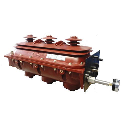 disgiuntore a interruzione di carico con SF6 / ad alta tensione / AC / in linea