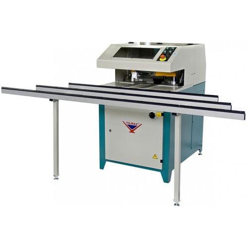 sbavatrice angolare per serramenti in PVC / automatica