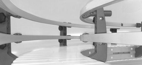rotaia di guide lineari / in acciaio inossidabile / in alluminio / a rotelle