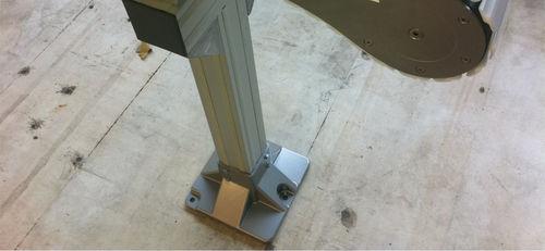 supporto regolabile / fisso / mobile / in alluminio
