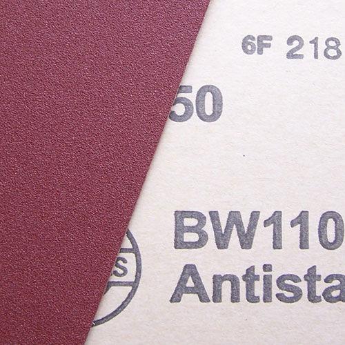 rotolo abrasivo in ossido di almluminio / per lavorazione di legno / di carta