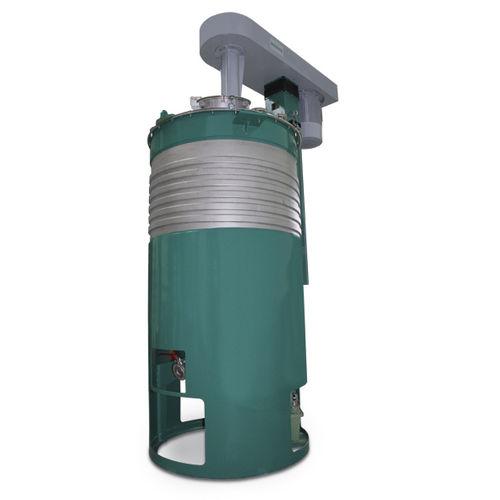 miscelatore a palette / discontinuo / per liquidi / sottovuoto