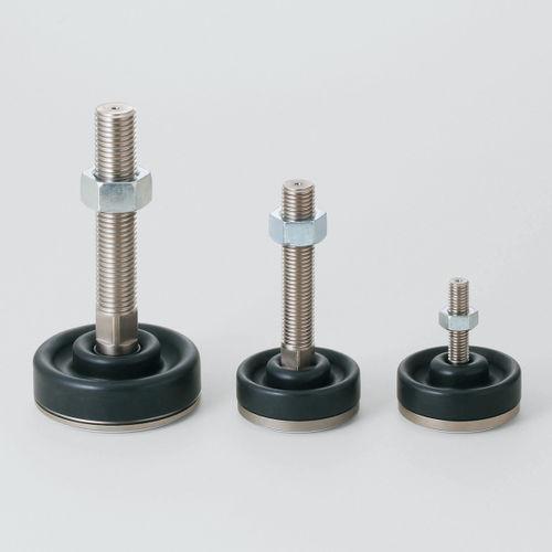 piede per rack / in metallo / di livellamento / antivibrazioni
