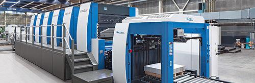 macchina da stampa offset foglio a foglio / a 2 colori / a 3 colori / a 4 colori