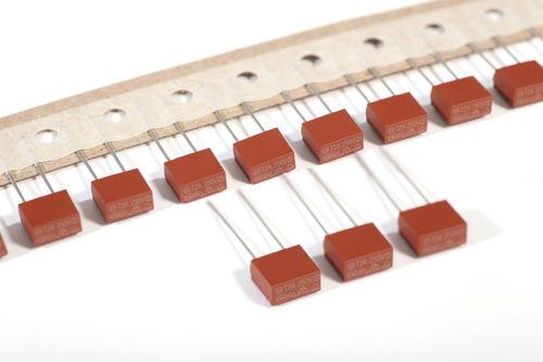 fusibile in miniatura / radiale / quadrato / in ritardati