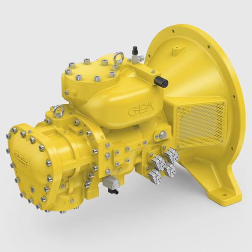 compressore di gas / fisso / elettrico / a vite