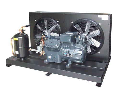 unità di condensazione semiermetica / con raffreddamento ad aria / per interni