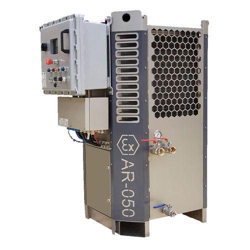 climatizzatore a pavimento / per applicazioni marine / offshore / ATEX