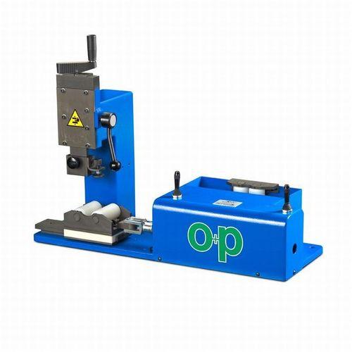 macchina di marcatura a rullo / benchtop / pneumatica / per tubi