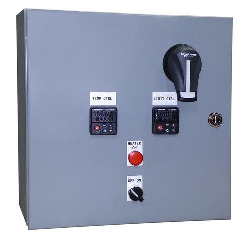 controllore di temperatura senza monitor / programmabile / di riscaldamento / montato su pannello