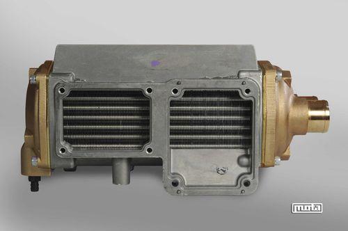 scambiatore di calore a tubi ed alette / aria-acqua / compatto / ad alte prestazioni